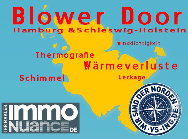 Blower Door Test Verkauf Vermietung Thermografie Ingenieur Sachverständige Gutachter