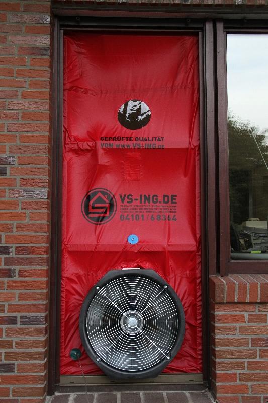 Blower Door Messung Hamburg Wohnung Verkauf Immobilienmakler
