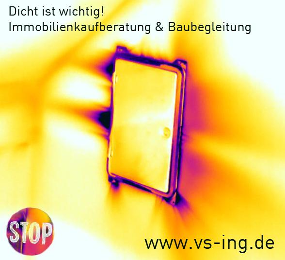 Thermografie Blower Door Immobilienmakler Verkauf Vermietung Hamburg Pinneberg Schenefeld